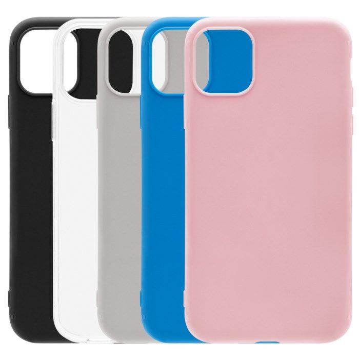 Linocell Second skin 2.0 Mobilskal för iPhone 12 och 12 Pro Grå