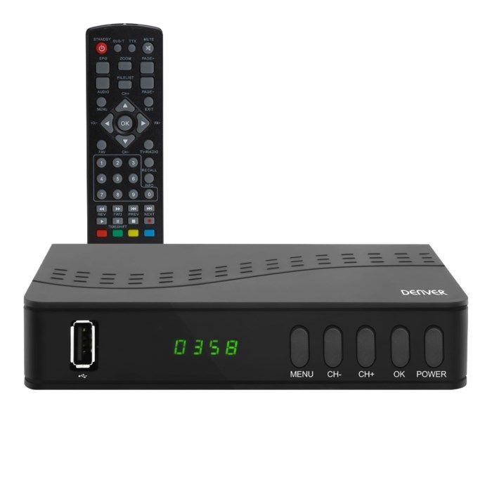 Denver DTB-140 Digital-TV-mottagare med HDTV-stöd