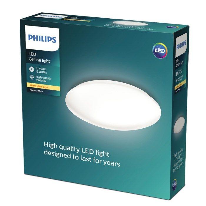 Philips Mauve LED-takplafond 2000 lm
