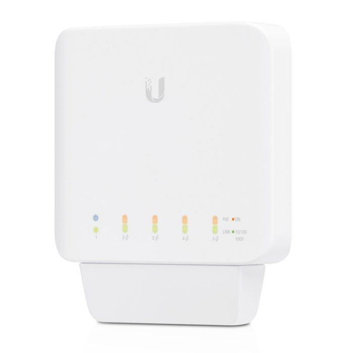 Ubiquiti Unifi USW Flex PoE-gigabitswitch 5 portar