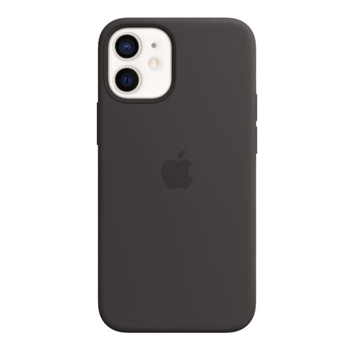 Apple Silikonskal med Magsafe till iPhone 12 Mini Svart
