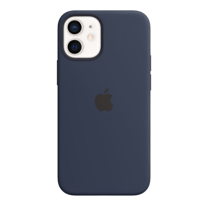 Apple Silikonskal med Magsafe till iPhone 12 Mini Blå