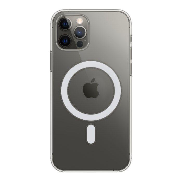 Apple Transparent skal med Magsafe till iPhone 12 och 12 Pro