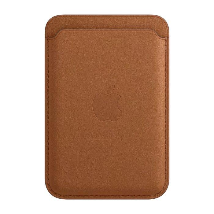 Apple Magsafe-plånbok i läder för iPhone 12 Brun