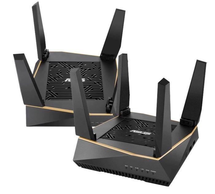 Asus RT-AX92U Trådlös router AX6100 2-pack