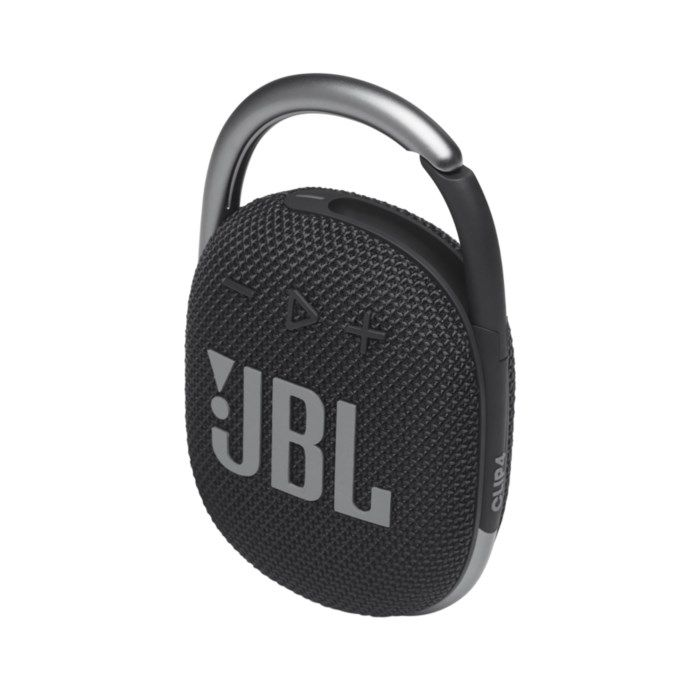 JBL Clip 4 Portabel Bluetooth-högtalare Svart