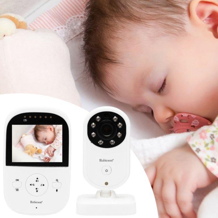Rubicson Trådlös babyvakt med kamera