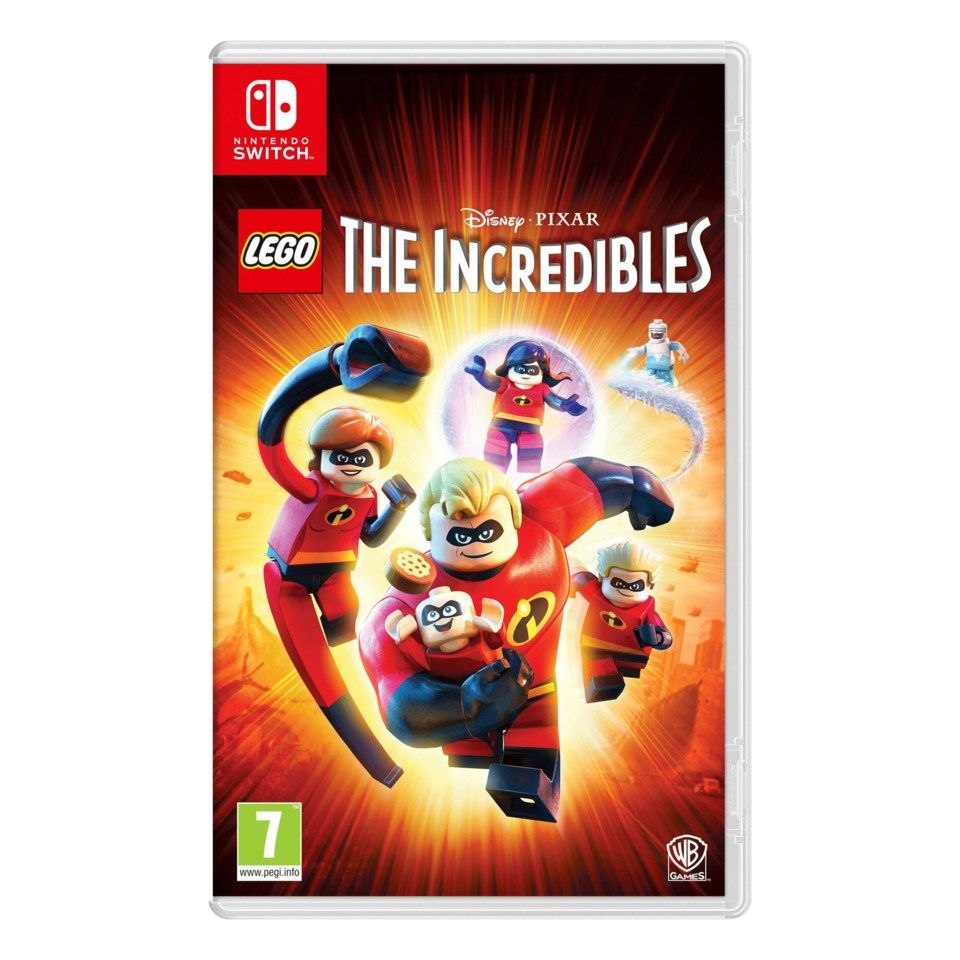 Nintendo Lego The Incredibles till Switch