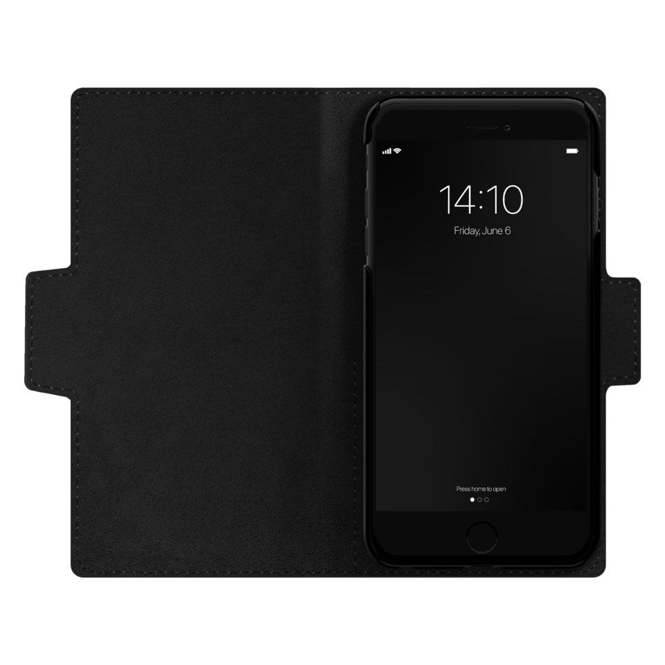 IDEAL OF SWEDEN Atelier Wallet Magnetisk mobilplånbok för iPhone 6-8 och SE Svart