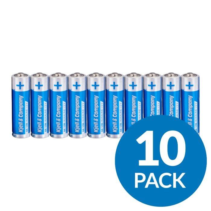 Kjell & Company AA-batterier (LR6) 10-pack