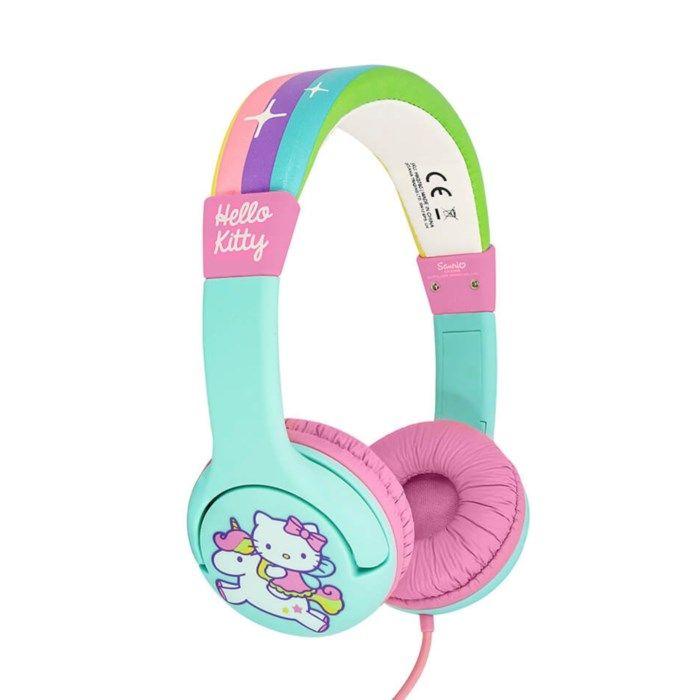 Hörlurar med volymbegränsning Hello Kitty