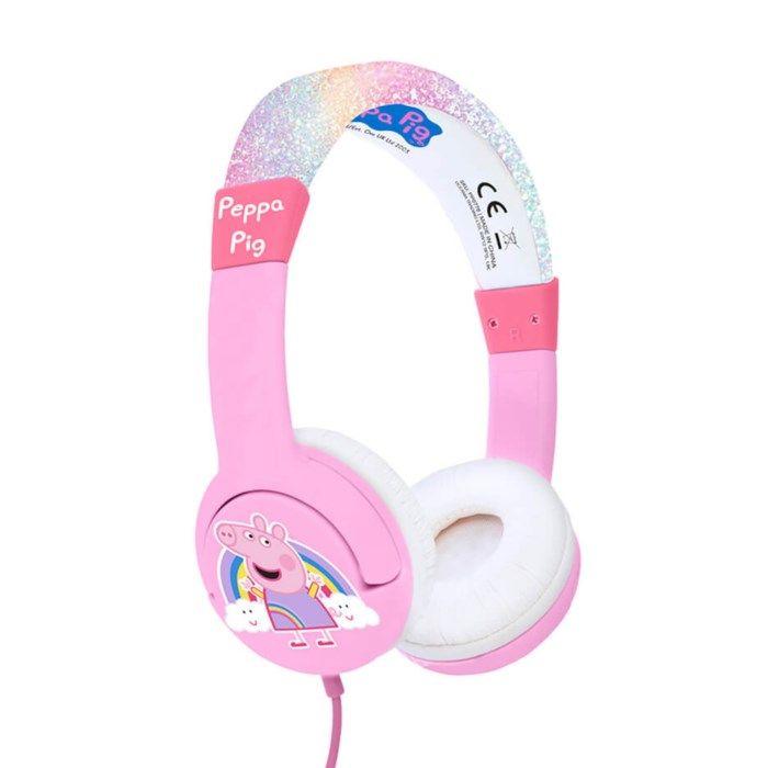 Hörlurar med volymbegränsning Peppa Pig