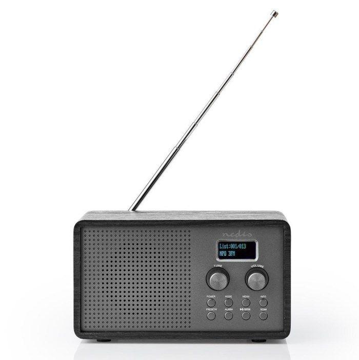 Radio med Dab+ och uppladdningsbart batteri