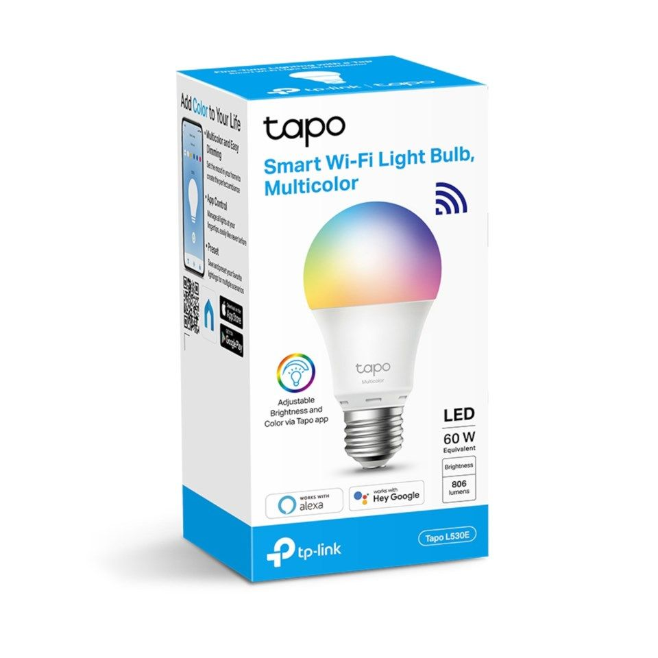 TP-link Tapo Smart RGB LED-lampa E27
