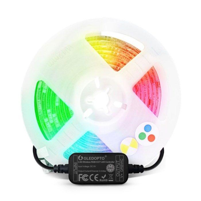Gledopto RGB LED-list med Zigbee 2 m