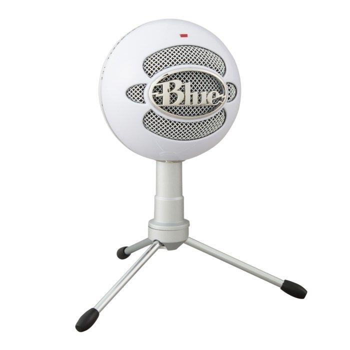 Blue Microphones Snowball iCE USB-stereomikrofon Vit
