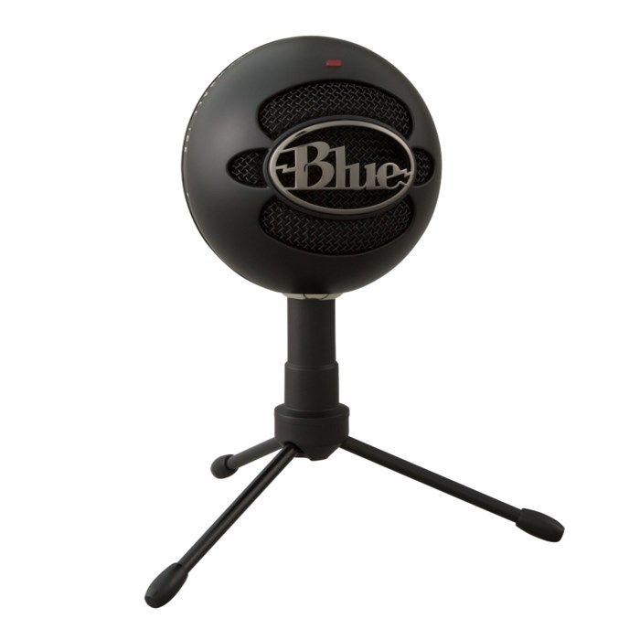 Blue Microphones Snowball iCE USB-stereomikrofon Svart