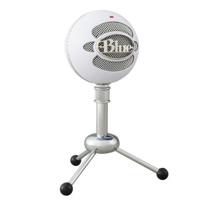 Blue Microphones Snowball USB-stereomikrofon Vit