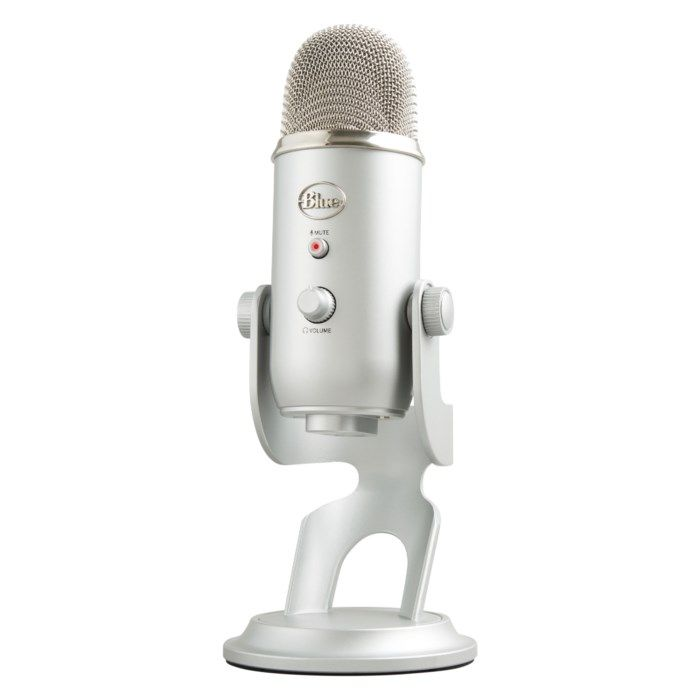 Blue Microphones Yeti USB-stereomikrofon Silver