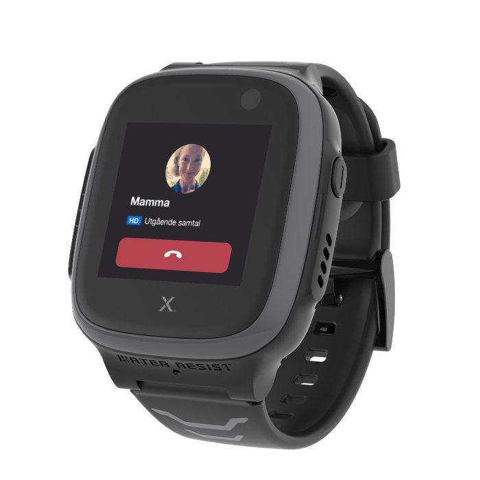 Xplora 5 Play GPS-klocka och telefon för barn Svart
