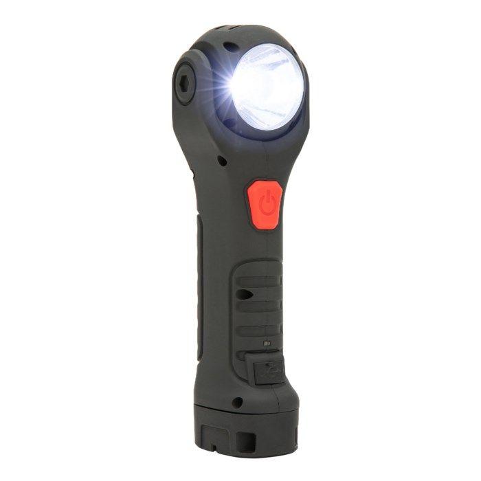 Ledsavers Laddbar handlampa med magnetfäste 130 lm