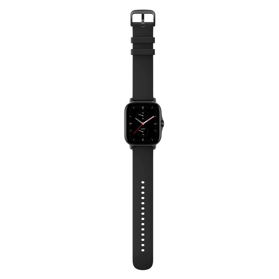 Amazfit GTS 2e Smartklocka med always-on-display Svart