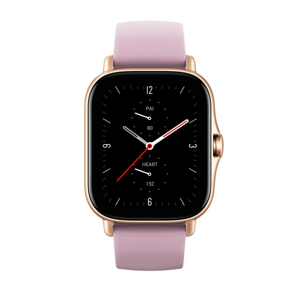Amazfit GTS 2e Smartklocka med always-on-display Lila
