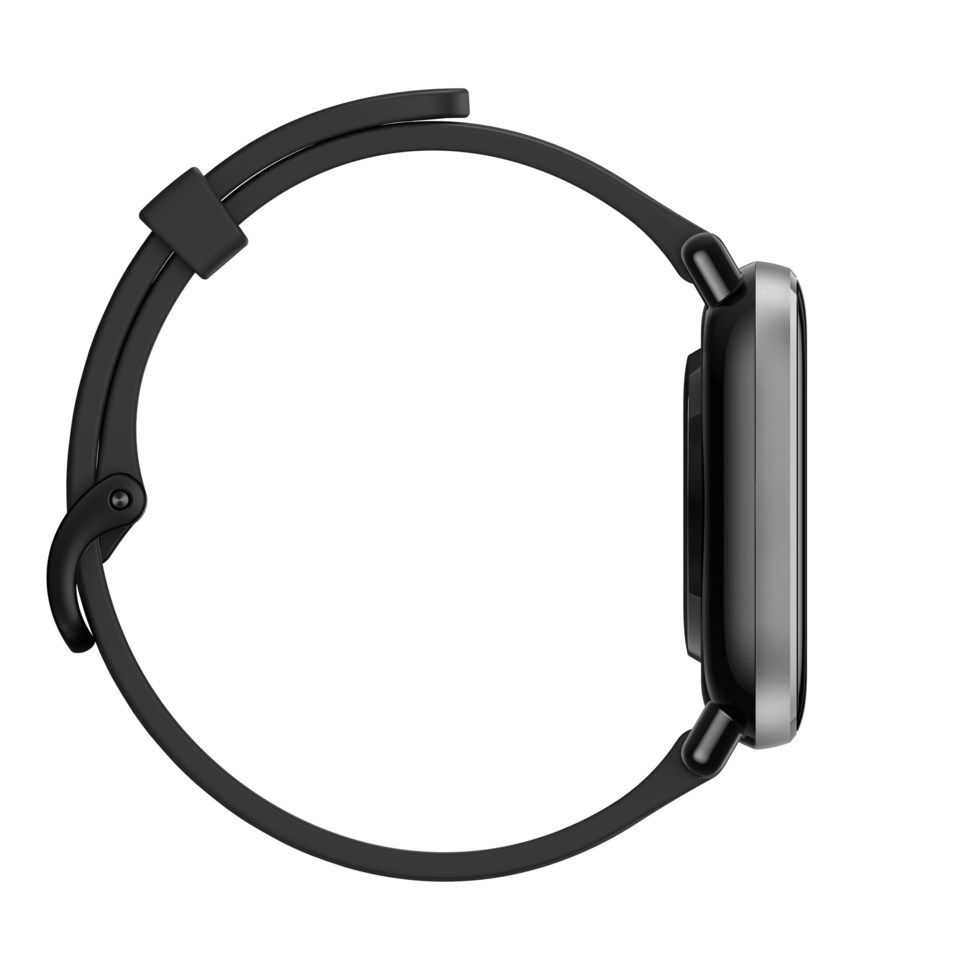 Amazfit GTS 2 Mini Smartklocka med always-on-display Svart