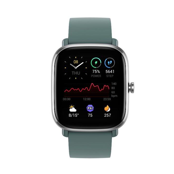 Amazfit GTS 2 Mini Smartklocka med always-on-display Grön