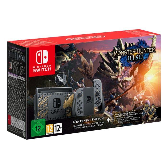 Nintendo Switch (2019) Spelkonsol 6,2? Monster Hunter Edition