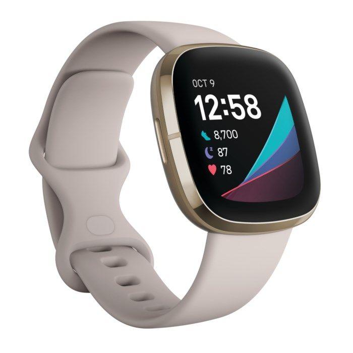 Fitbit Sense Smartklocka Vit
