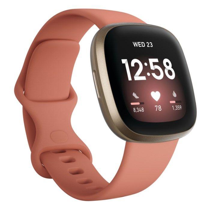 Fitbit Versa 3 Smartklocka Rosa/Guld