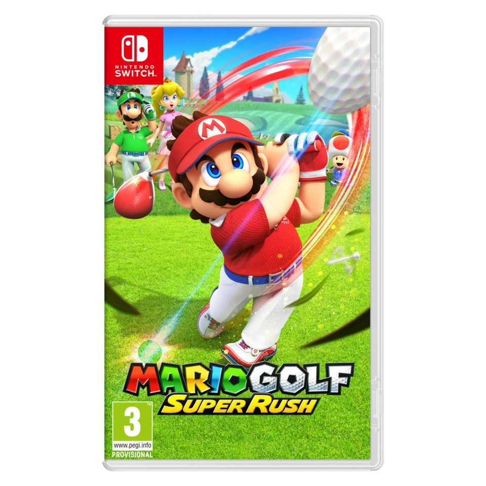 Nintendo Mario Golf: Super Rush