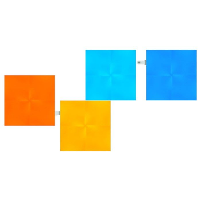 Nanoleaf Canvas Expansionspaket 4-pack