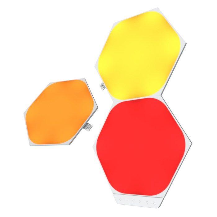 Nanoleaf Shapes Hexagon Expansionspaket 3 panaler
