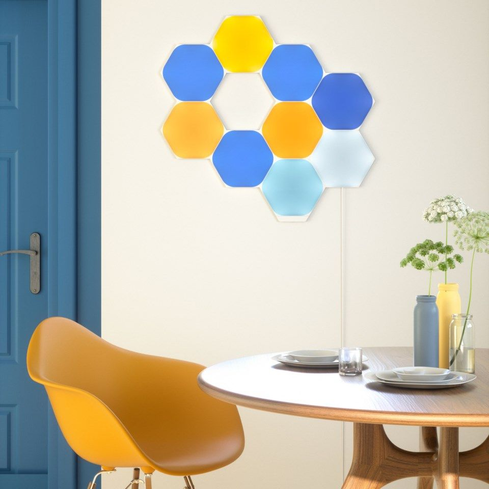 Nanoleaf Shapes Hexagon Startpakke 9 paneler