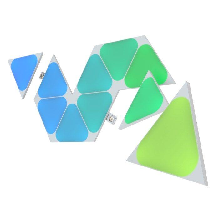 Nanoleaf Shapes Mini Triangles Expansionspaket 10 panaler