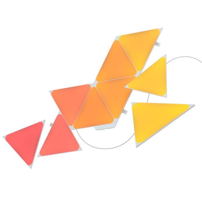Nanoleaf Shapes Triangles Startpaket 9 paneler