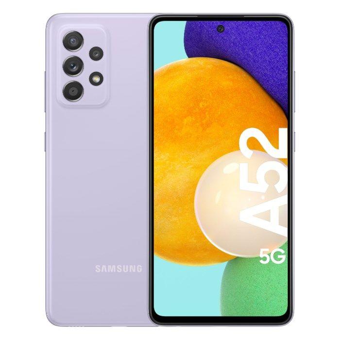Samsung Galaxy A52 5G Mobiltelefon 128 GB Lila
