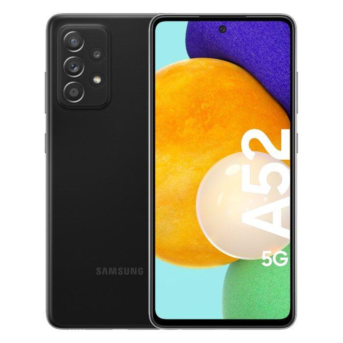 Samsung Galaxy A52 5G Mobiltelefon 128 GB Svart