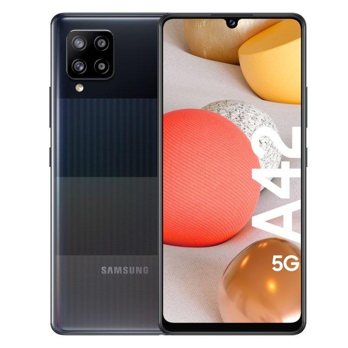 Samsung Galaxy A42 5G Mobiltelefon 128 GB Svart