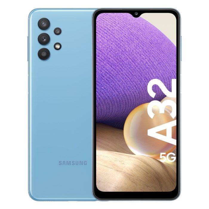 Samsung Galaxy A32 5G Mobiltelefon 64 GB Blå