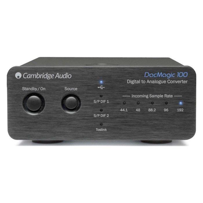Cambridge Audio DacMagic 100 Svart