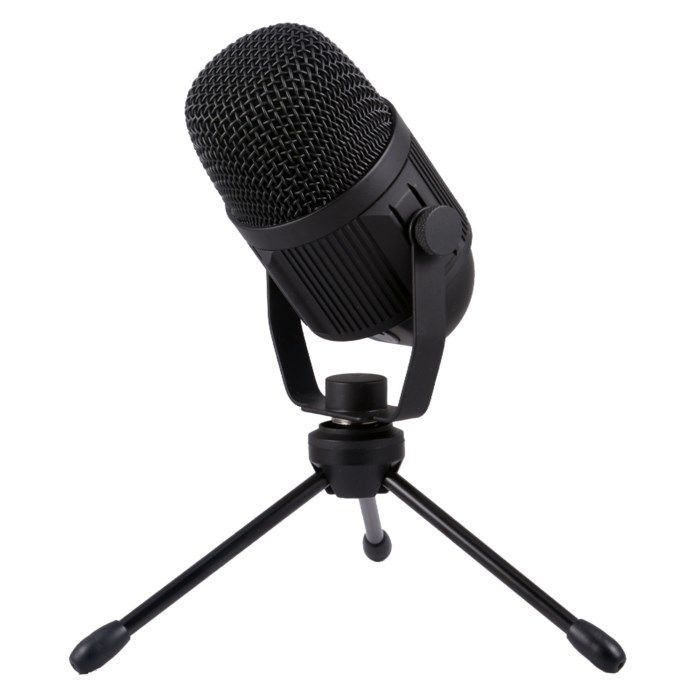 Plexgear M-4 Studiomikrofon med bordsstativ