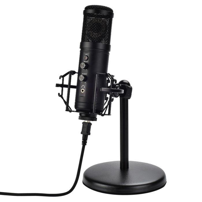 Nikabe M-5 Studiomikrofon med bordsstativ
