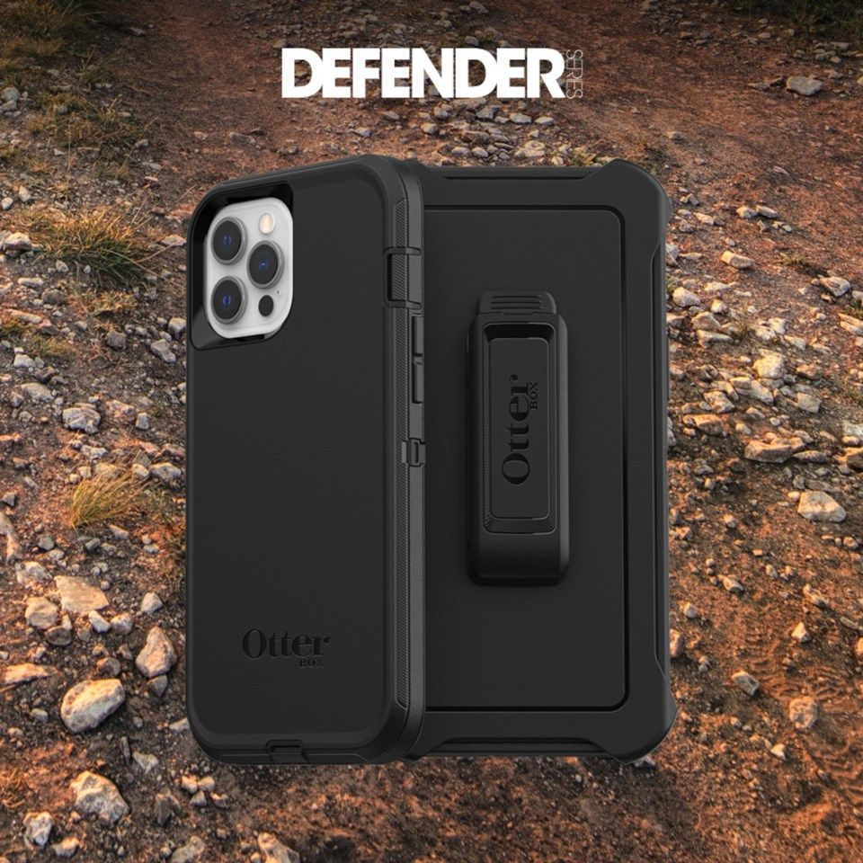 Otterbox Defender Robust deksel for iPhone 12 og 12 Pro