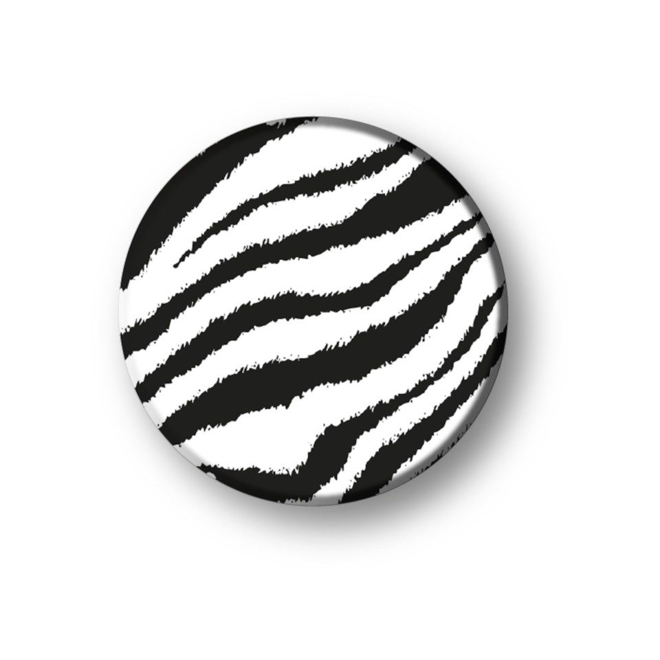 Richmond & Finch Zebra Popsocket for mobilen