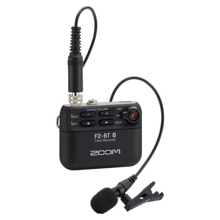 Zoom F2-BT Ljudinspelare med mygga