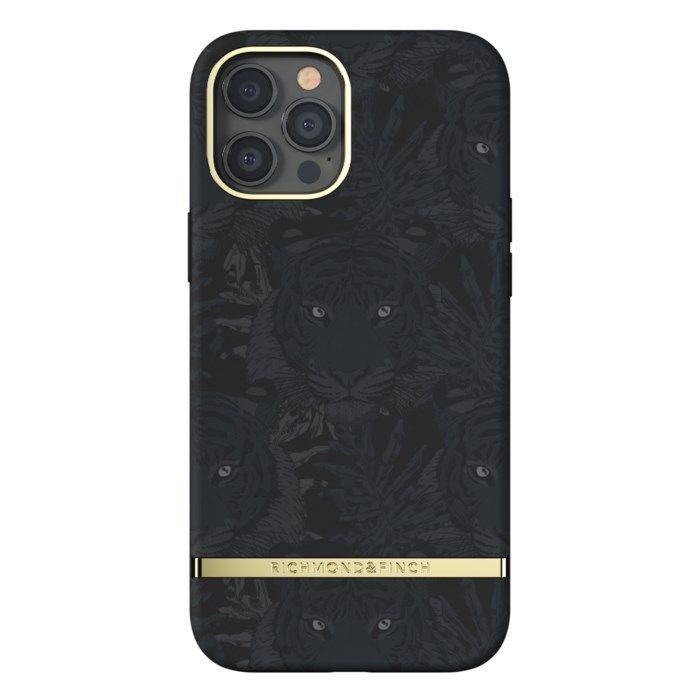 Richmond & Finch Black Tiger Mobilskal för iPhone 12 Pro Max