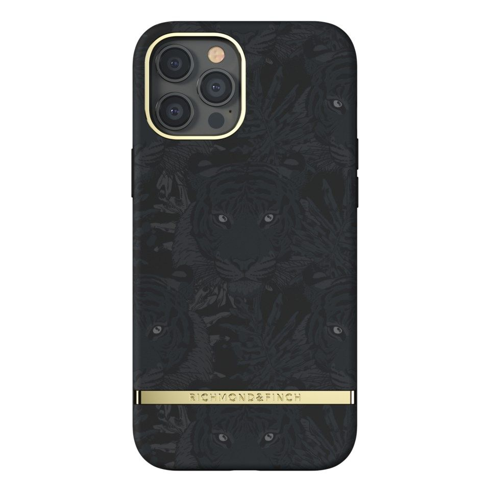 Richmond & Finch Black Tiger Mobildeksel for iPhone 12 Pro Max